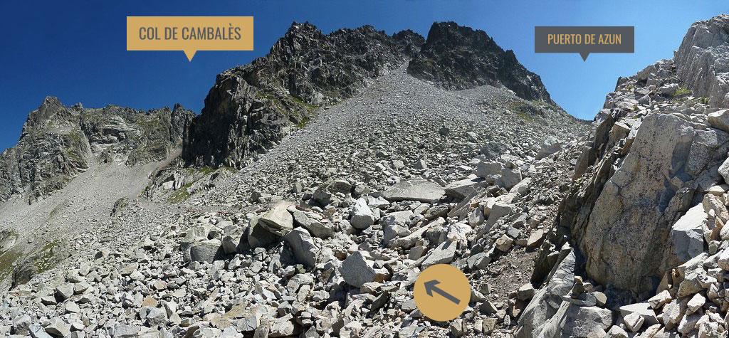 Camino al Col de Cambalès