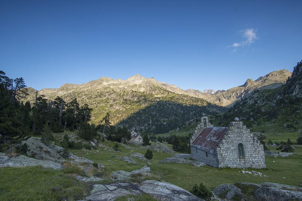 Ermita y Refugio de Marcadau