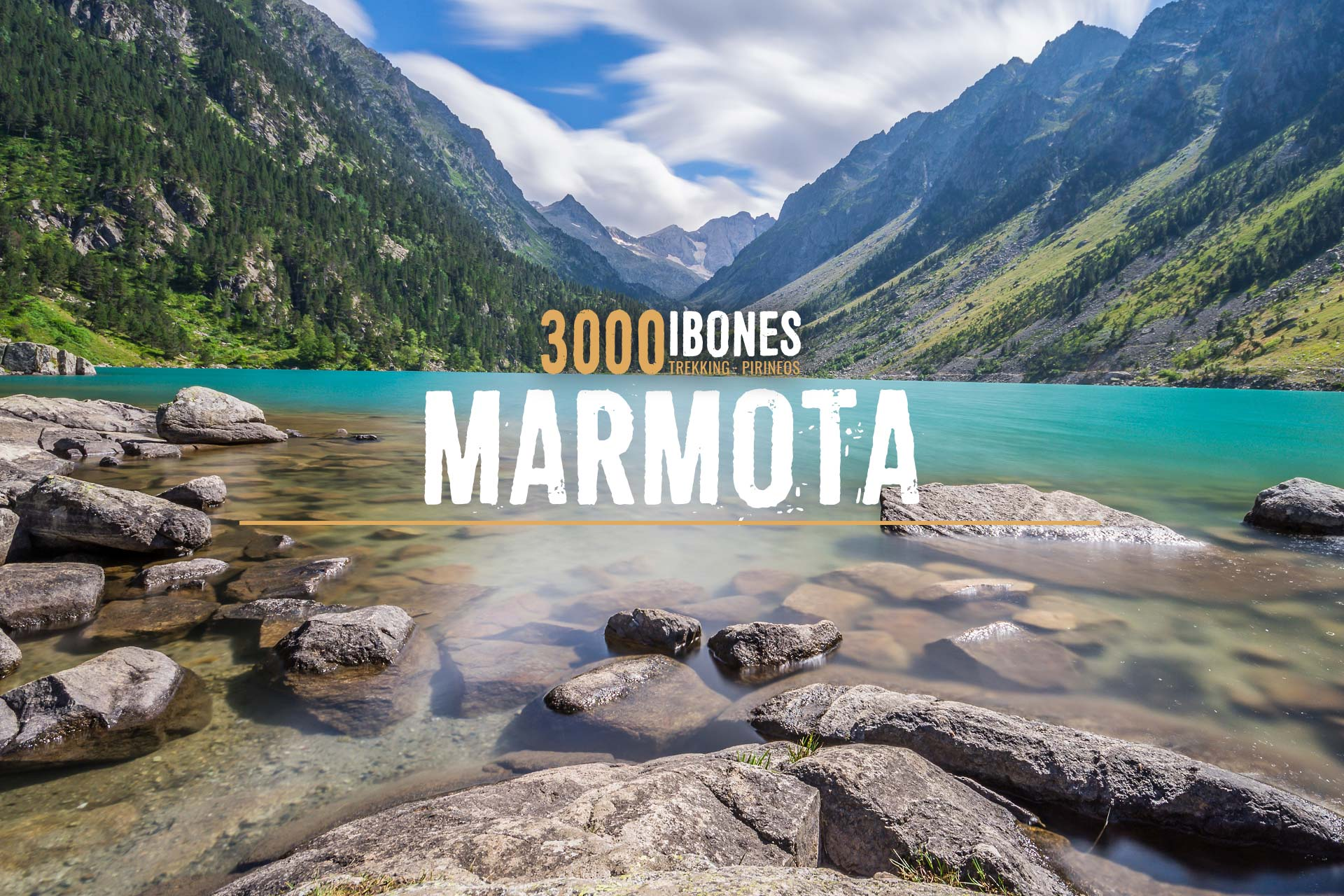 3000IBONES MARMOTA Ruta circular 4 dias Pirineos