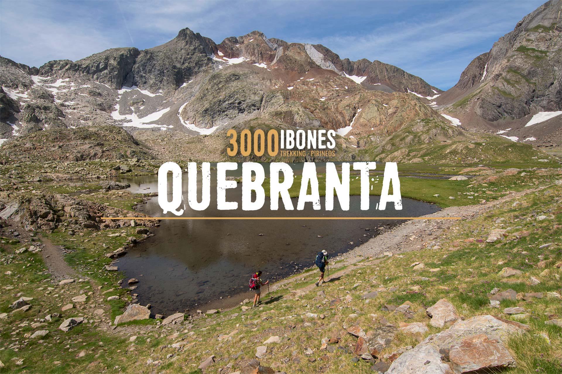 3000 IBONES QUEBRANTA - RUTA CIRCULAR 6 DÍAS PIRINEOS